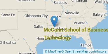 Location of McCann School of Business & Technology