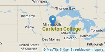 Location of Carleton College