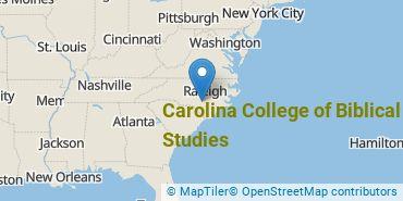 Location of Carolina College of Biblical Studies