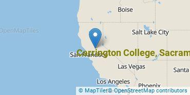 Location of Carrington College-Sacramento