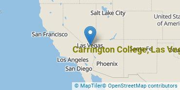 Location of Carrington College-Las Vegas