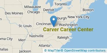 Location of Carver Career Center