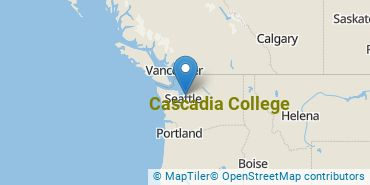 Location of Cascadia College