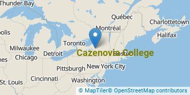 Location of Cazenovia College