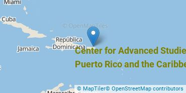Location of Center for Advanced Studies On Puerto Rico and the Caribbean