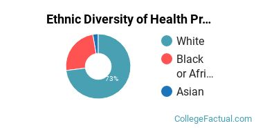 Ethnic Diversity of Health Professions Majors at Central Alabama Community College