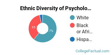 Ethnic Diversity of Psychology Majors at Central Baptist College