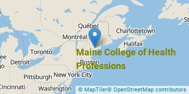 Location of Maine College of Health Professions