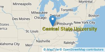 Location of Central State University