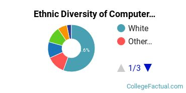 Ethnic Diversity of Computer & IS Security Majors at Central Washington University