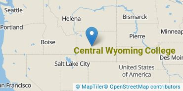 Location of Central Wyoming College