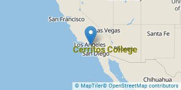 Location of Cerritos College