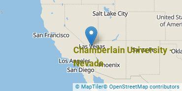 Location of Chamberlain University-Nevada
