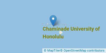 Location of Chaminade University of Honolulu