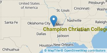 Location of Champion Christian College