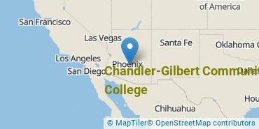 Location of Chandler-Gilbert Community College