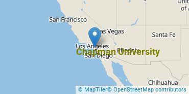 Location of Chapman University