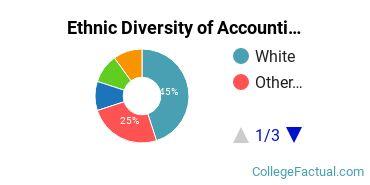 Ethnic Diversity of Accounting Majors at Charleston Southern University