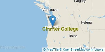 Location of Charter College