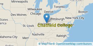 Location of Chatfield College