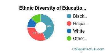 Ethnic Diversity of Education Majors at Chicago State University