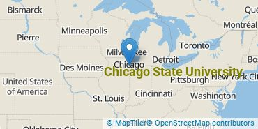 Location of Chicago State University