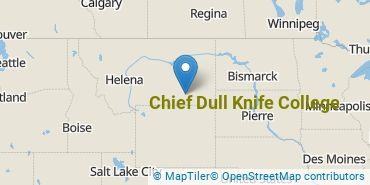 Location of Chief Dull Knife College