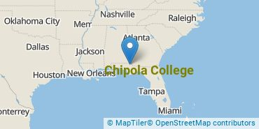 Location of Chipola College