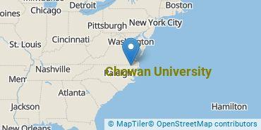 Location of Chowan University