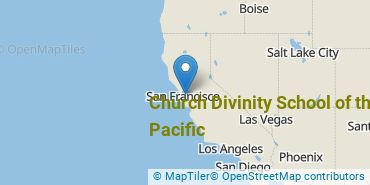 Location of Church Divinity School of the Pacific