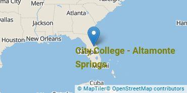 Location of City College-Altamonte Springs