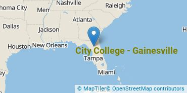 Location of City College - Gainesville