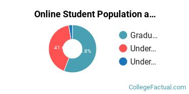 Online Student Population at City University of Seattle