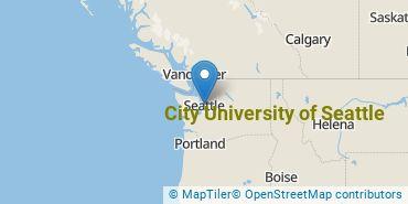 Location of City University of Seattle