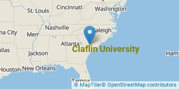 Location of Claflin University