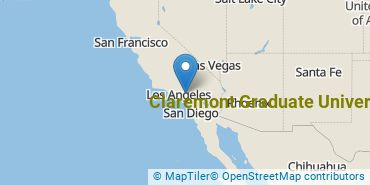 Location of Claremont Graduate University