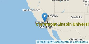 Location of Claremont Lincoln University