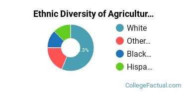 Ethnic Diversity of Agriculture & Agriculture Operations Majors at Clarendon College