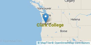Location of Clark College