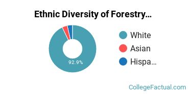 Ethnic Diversity of Forestry Majors at Clemson University