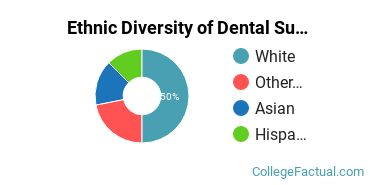 Ethnic Diversity of Dental Support Services Majors at Clover Park Technical College