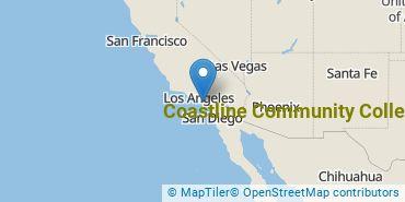 Location of Coastline Community College