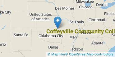 Location of Coffeyville Community College