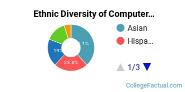 Ethnic Diversity of Computer & Information Sciences Majors at Cogswell College