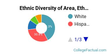 Ethnic Diversity of Area, Ethnic, Culture, & Gender Studies Majors at Colby College
