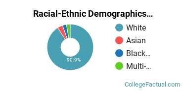 Racial-Ethnic Demographics of Colby Faculty