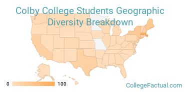 Where are Colby Students From?