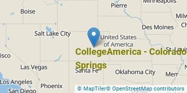 Location of CollegeAmerica - Colorado Springs