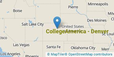 Location of CollegeAmerica - Denver