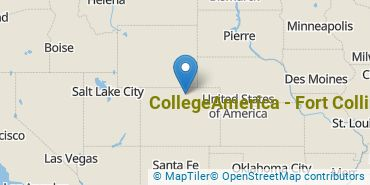 Location of CollegeAmerica - Fort Collins